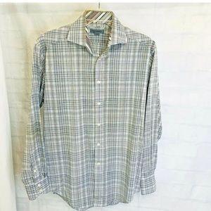 Johnston & Murphy Men's L Shirt Tailored Fit
